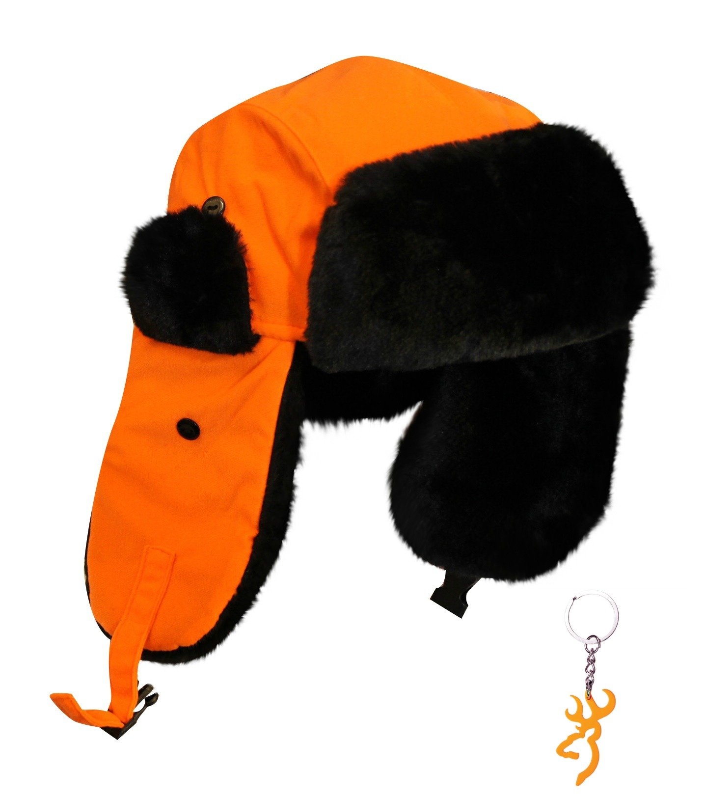 Blaze orange redhead hat