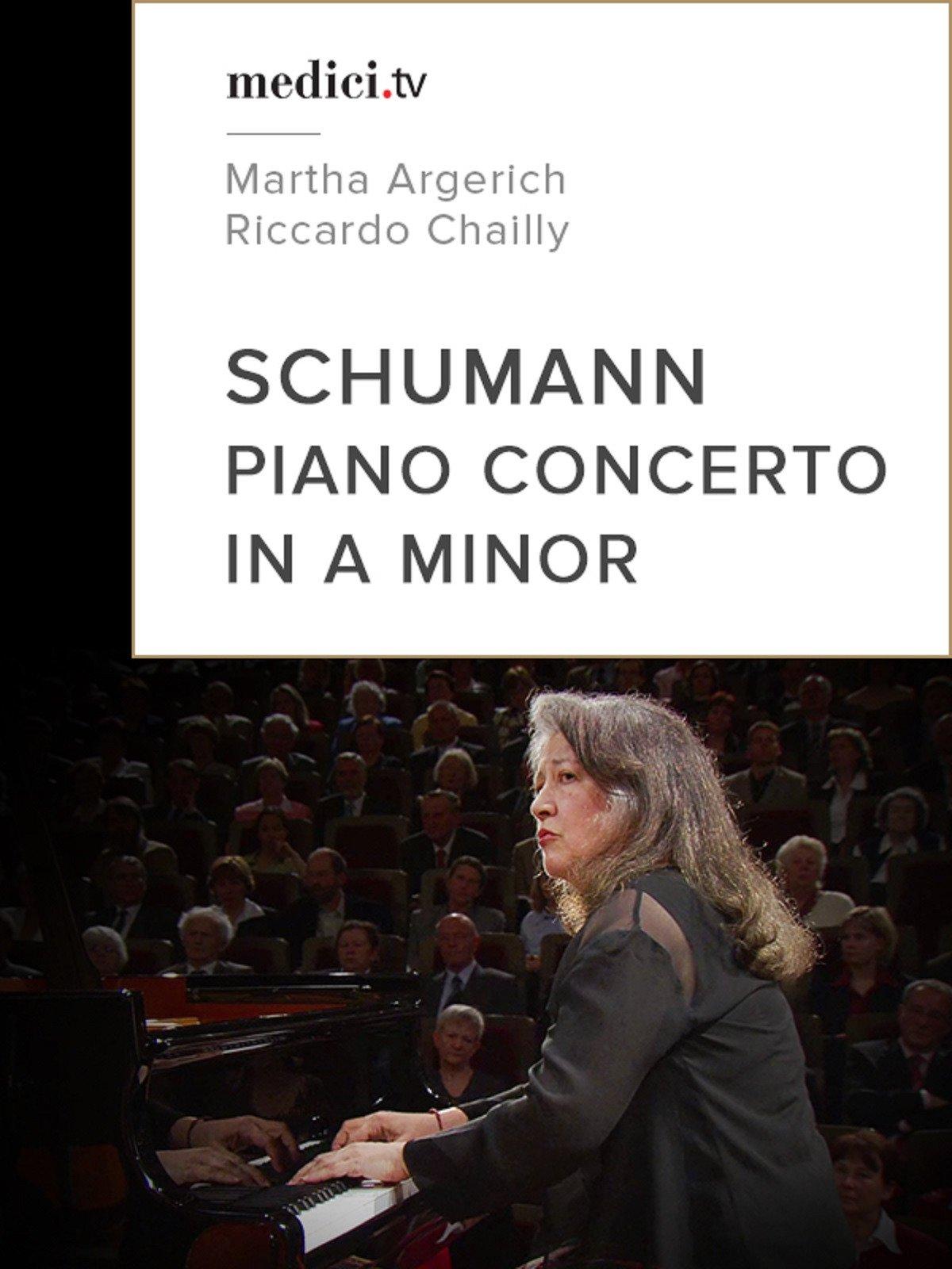 Schumann, Piano concerto in A minor, Op.54 - Martha Argerich, Riccardo Chailly