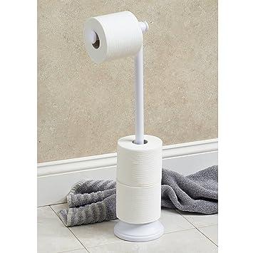 interdesign 93389eu kent bo te r serve r serve papier toilette plus blanc cuisine. Black Bedroom Furniture Sets. Home Design Ideas