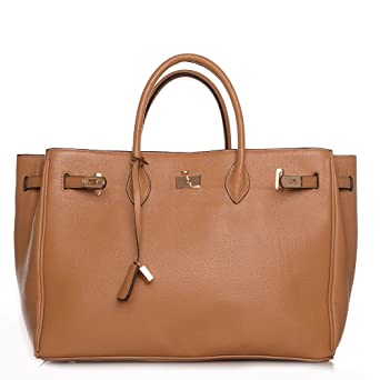 hot hot hot Sale ROUVEN Camel Braun & Gold ICONE 40 HEIGHT