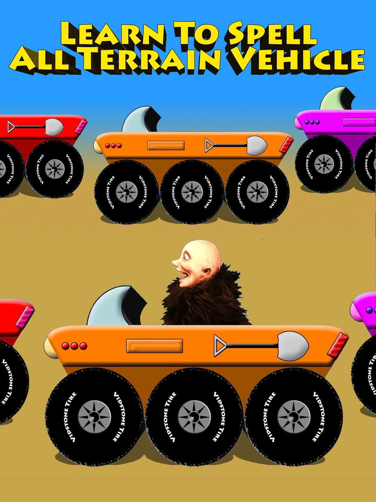 Learn To Spell All Terrain Vehicle on Amazon Prime Instant Video UK