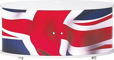 simmob print110bl701Flagge Englisch Waschtisch TV Panel/Holz Melamin weiß 50,8x 110,4x 45,4cm