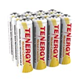 Tenergy AA Rechargeable Battery NiCd 1000mAh 1.2V Battery Pack for Solar Lights, Garden Lights, 12-Pack (Color: White, Tamaño: 12 Count)