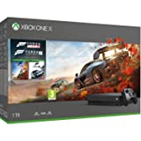 Xbox One X 4K HDR Enhanced Forza Horizon 4 Bonus Bundle: Forza Horizon 4, Forza Motorsport 7, Xbox One X 1TB Console - Black [video game] [video game] [video game] [video game] (Color: Black)