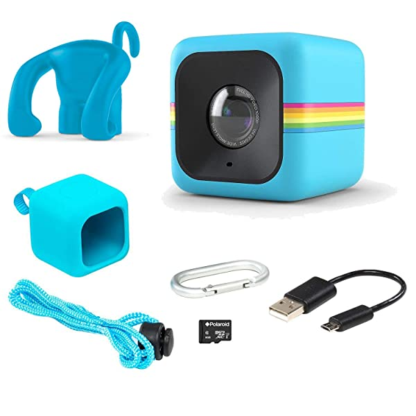 c3c7f6d3c1 Polaroid Cube Act II – HD 1080p Mountable Weather-Resistant Lifestyle  Action Video Camera & 6MP Still ...