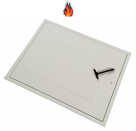 Manthorpe GL280F Rectangular 1 Hour Fire Rated High Insulation Loft Access Door Hatch