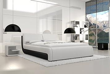 SAM® Design Polsterbett Bett Tezero in weiß 180 x 200 cm