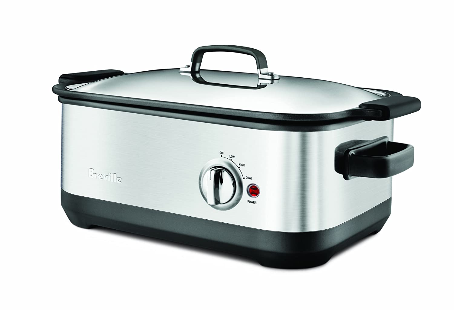 Awesome Breville BSC560XL Stainless-Steel 7-Quart Slow Cooker with EasySear Insert