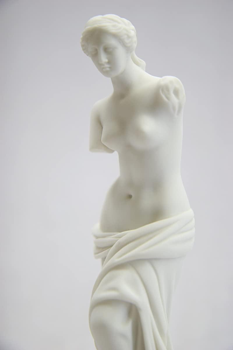 "6 1/2"" Nude Naked Venus De Milo Aphrodite of Milos Greek Goddess of Love and Beauty Statue Sculpture Figurine Made in Italy"