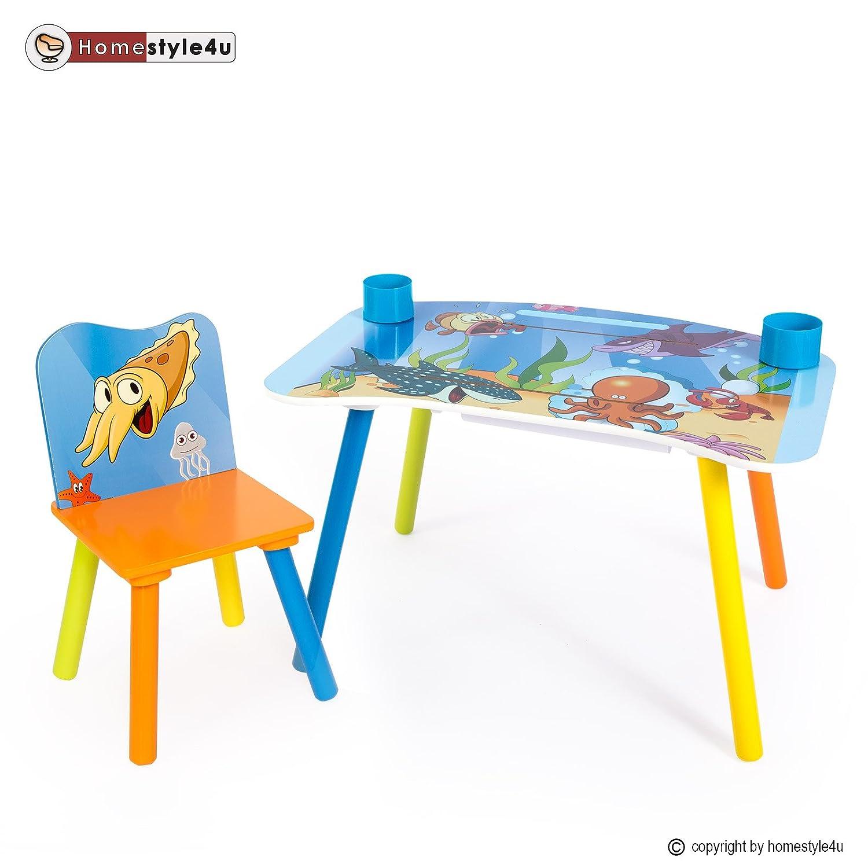 Homestyle4u Kindermaltisch Zeichentisch Kinder Tisch Stuhl Spieltisch Kindertisch Maltisch günstig bestellen