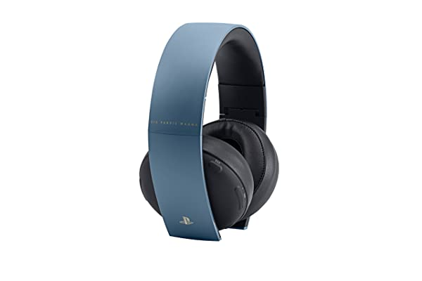 PlayStation Gold Wireless Headset - Uncharted 4 Limited Edition (Color: Gray Blue)