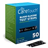 Care Touch Blood Glucose Test Strips (50 Count) for Use with Care Touch Monitor (Tamaño: Test Strips 50count)