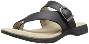 Eastland Women's Tahiti II Dress Sandal, Black, 10 M US