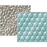Next Level Embossing Folders by We R Memory Keepers-Gemstones (Color: Gemstone, Tamaño: 1 Pack)