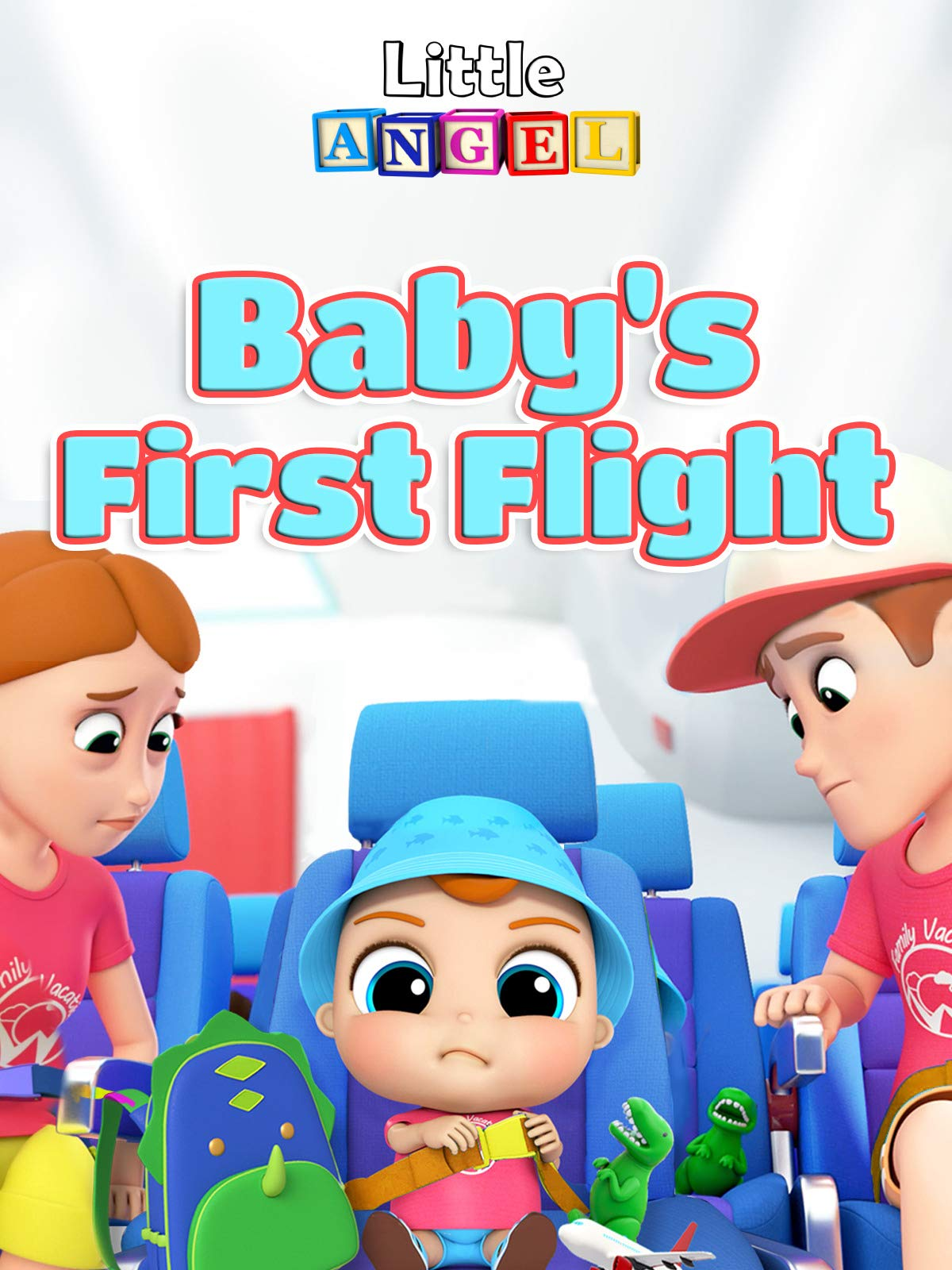 Baby's First Flight on an Airplane
