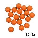 Pocket Shot Practice Ammo (100 Count). (Color: Orange)