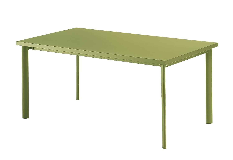 Emu 303076000 Star Tisch 307, 90 x 160 cm, pulverbeschichteter Stahl, grün bestellen