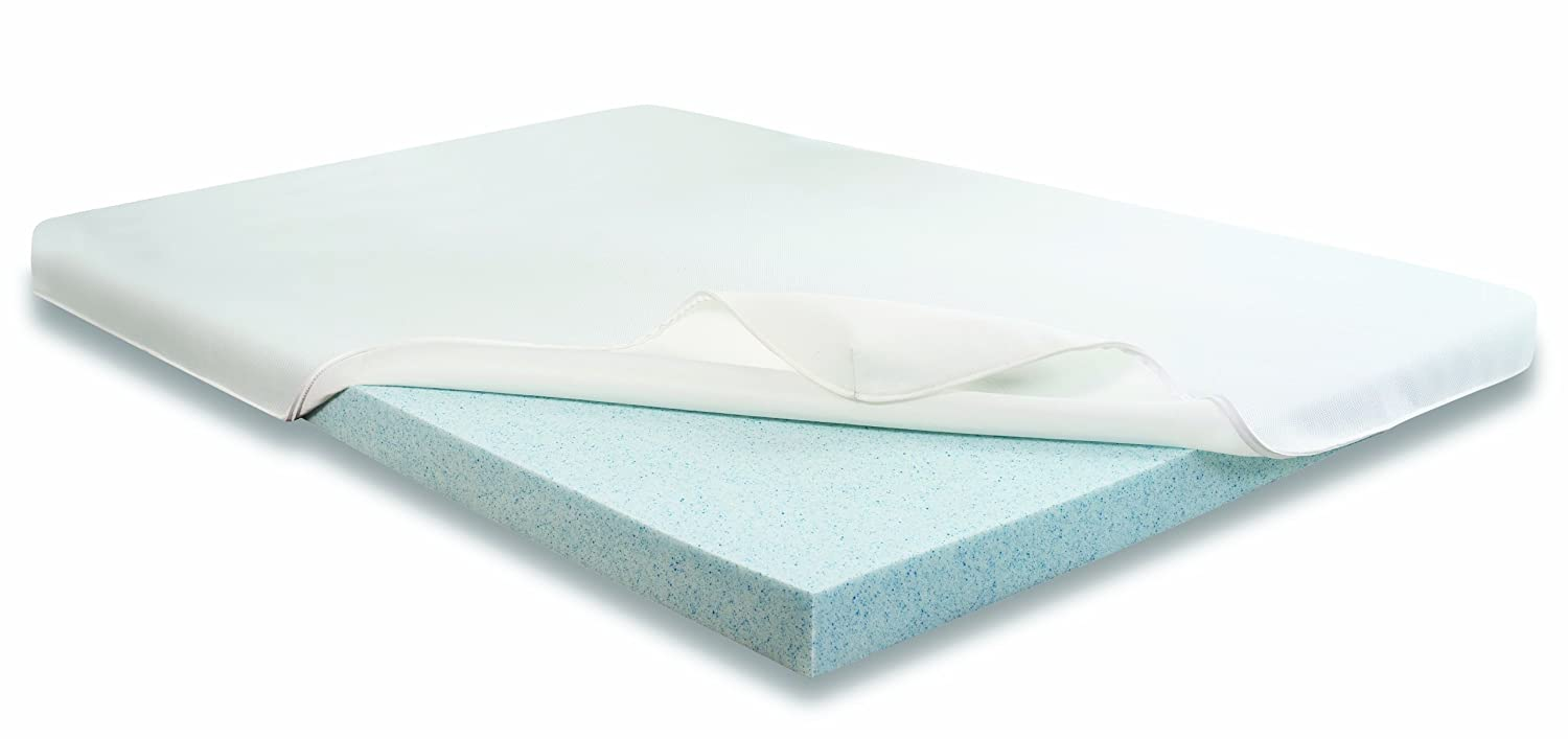 Best Sale Blueflex Gel Memory Foam Mattress Topper Twin Extra Long In Best Price