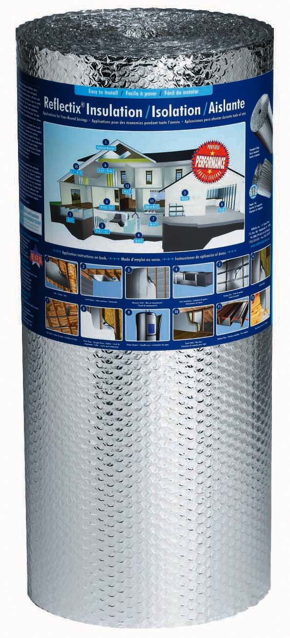 Reflectix BP24025 24-Inch by 25-Feet Bubble Pack Insulation - Pipe ...