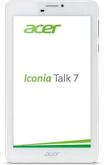 Acer Iconia Talk 7(B1-723) PC 17,8cm (7pouces IPS) Tablet (MTK MT8127Quad Core Cortex A7, 1Go de RAM, 16Go eMMC, Android 5.1Lollipop, 3G) Champagne Or