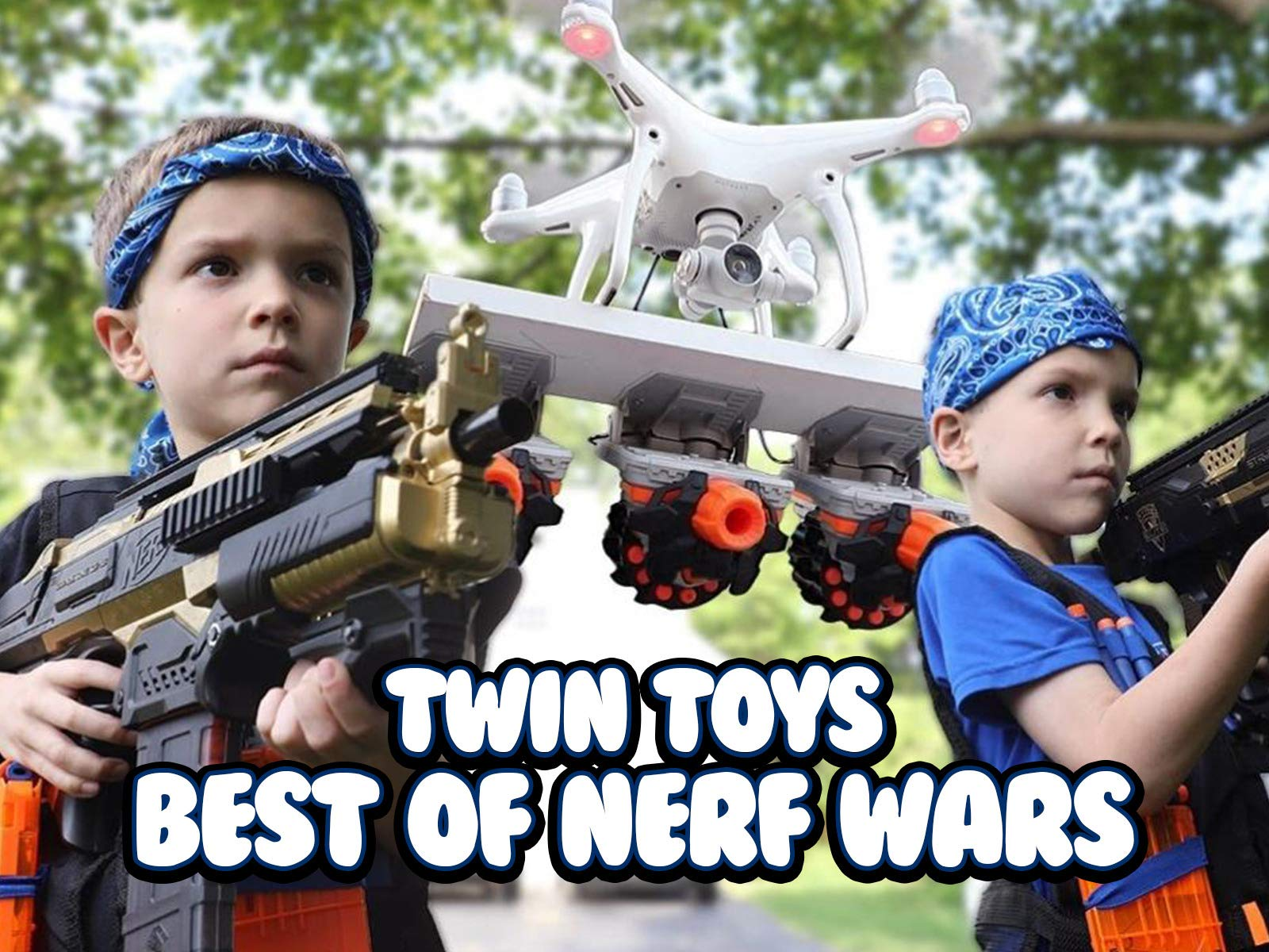 Clip: Best of Nerf Wars - Season 1