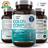 PurityLabs Colon Complete Cleanse and Detox - Ultimate Super Cleansing Weight Loss and Natural Belly Fat Burner, 60 Veggie Capsules (Tamaño: 60 Capsules)