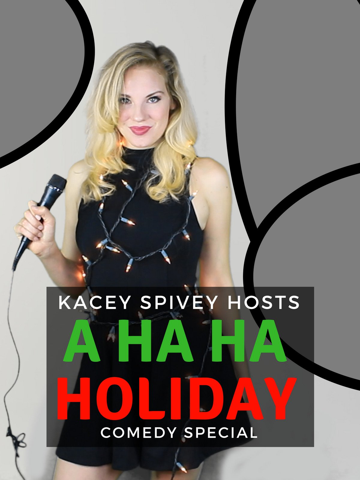Kacey Spivey Hosts A Ha Ha Holiday Comedy Special