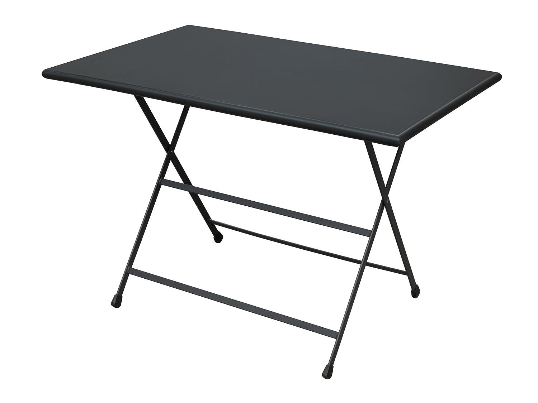 Emu 303312400 Arc En Ciel Klapptisch 331, 110 x 70 cm, pulverbeschichteter Stahl, schwarz günstig bestellen