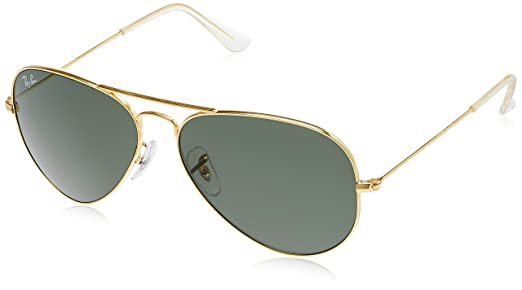ray ban glasses aviator sunglasses  Ray-Ban Aviator Sunglasses (Gold) (RB3025 L020558): Amazon.in ...