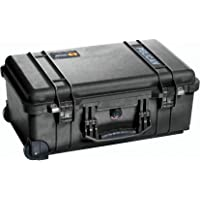 Pelican 1510 Case with Padded Dividers (Camera, Equipment, Multi-Purpose) - Black