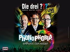 Die drei ???-Phonophobia - Sinfonie der Angst