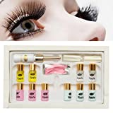 LuckyFine Eyelash Lash Eyelashes Wave Curling Perming Curler Rod Glue Perm Kit Sets (Color: 4)