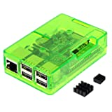 3ple Decker Case for Raspberry pi (Green) (Color: Green)