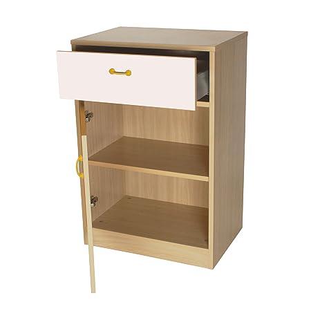 mobeduc armario, madera, blanco, 60x 90x 42cm