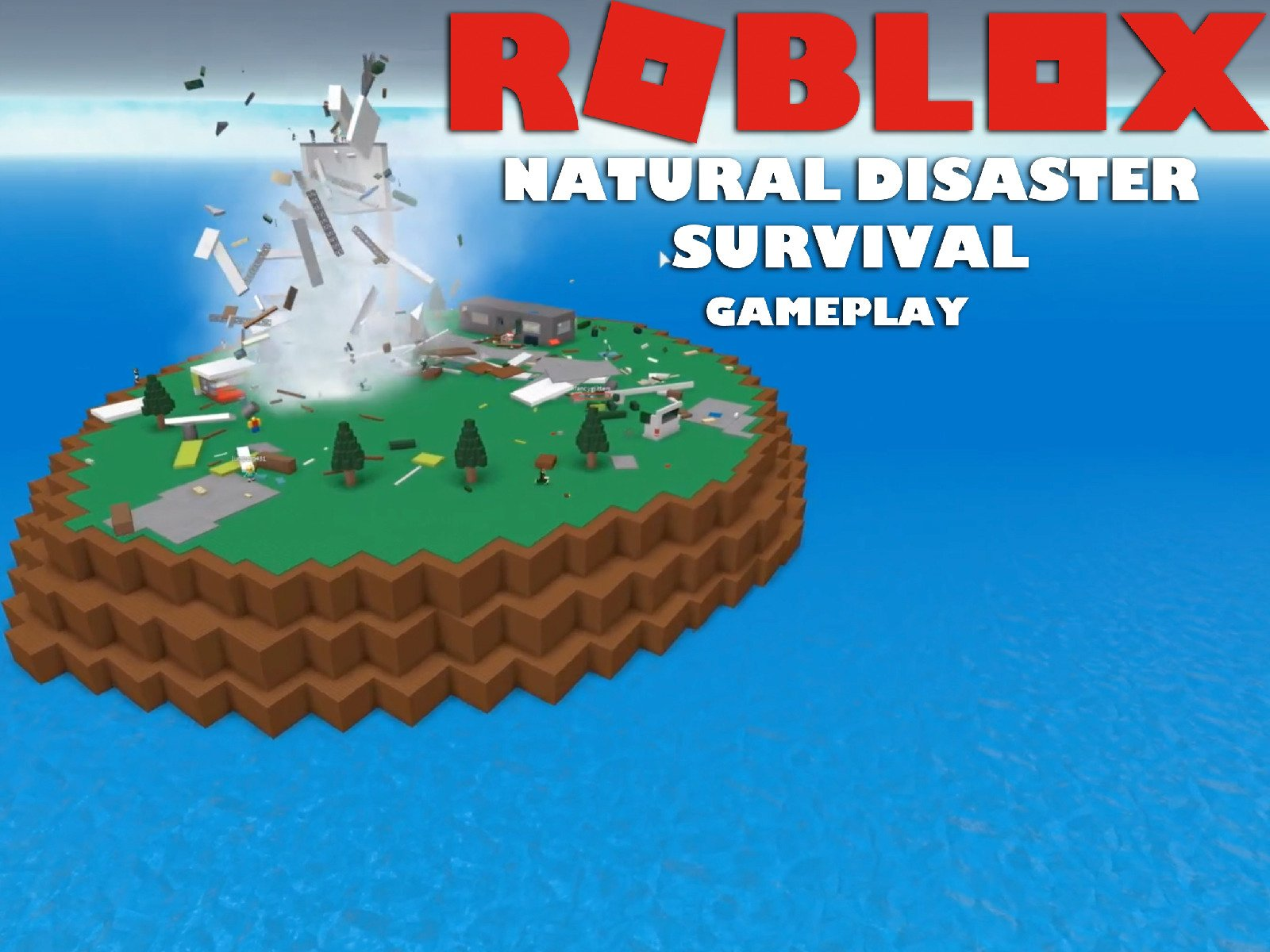 Clip: Roblox Natural Disaster Survival Gameplay