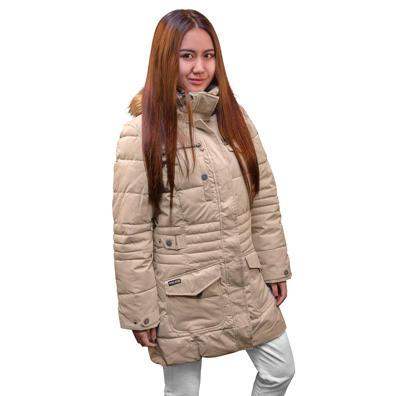 G.I.G.A. DX® Parka Winterjacke Wintermantel winddicht wasserfest schwarz beige online kaufen