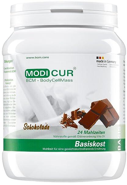BCM Modicur Basis Schokolade 1 Dose à 580g (25 Portionen / Eiweißshake / BCM BodyCellMass)