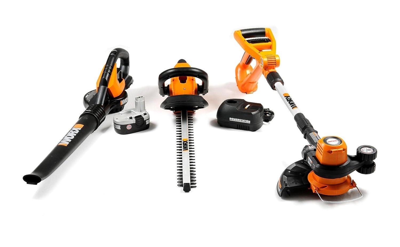 Best sale worx wg901 1 3 piece 18 volt cordless outdoor for Garden tools equipment sales