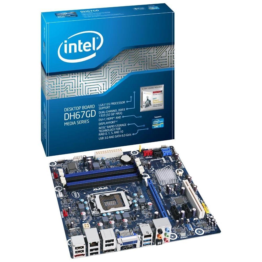 intel computer boxed intel desktop board media series. Black Bedroom Furniture Sets. Home Design Ideas