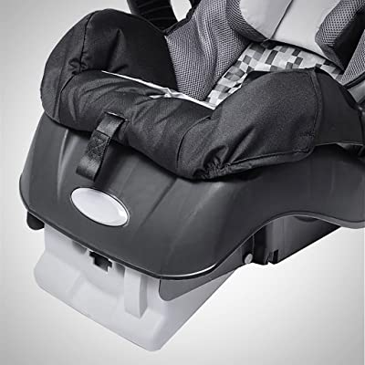 A Graco SnugRide Infant Car Seat Full of Features