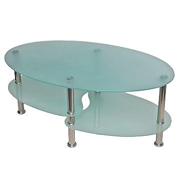Table basse table de de salon ovale 8mm verre de - Table basse de salon en verre ovale ...