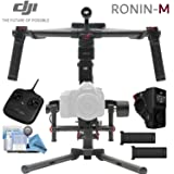 DJI Ronin-M Bundle - (Version 3) - Includes Wireless Thumb Controller, Remote Controller, 2 Batteries, Magnetic DJI Lapel Pin and more... (Color: Ronin-M, Tamaño: Wireless Thumb Controller)