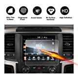 2013-2018 Dodge Ram 1500 2500 3500 Uconnect Touch Screen Car Display Navigation Screen Protector, RUIYA HD Clear Tempered Glass Car in-Dash Screen Protective Film (New 8.4-Inch) (Color: New 8.4-Inch, Tamaño: 8.4-Inch)