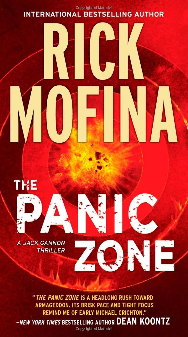 The Panic Zone (Jack Gannon): Rick Mofina: 9780778327943: Amazon ...