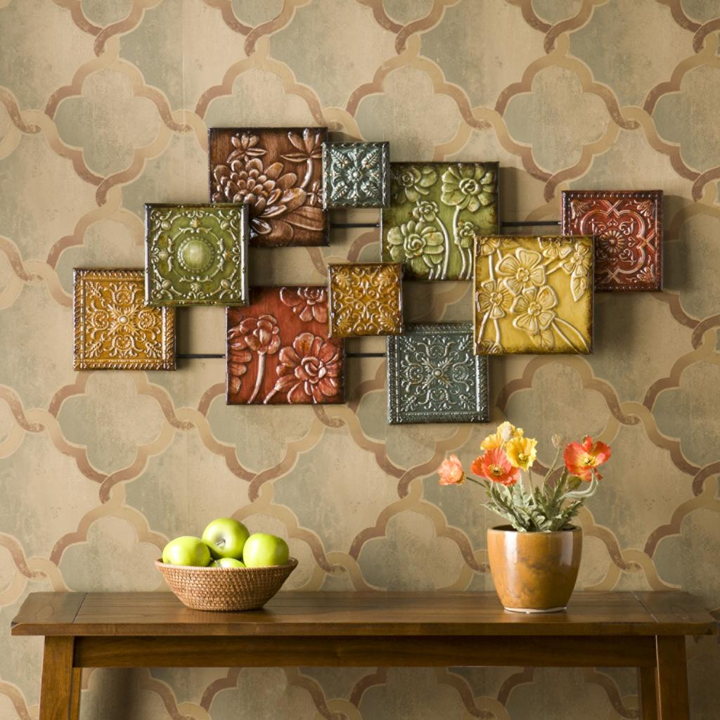 Kitchen Metal Wall Decor: SEI Bijou Wall Sculpture