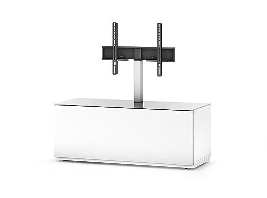 Sonorous STA 111F-WHT-WHT-BS Lowboard fur 132,1 cm (52 Zoll) Fernseher weiß