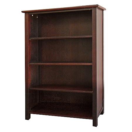 DonnieAnn Austin Bookcase, 4-Feet, 4 Shelves
