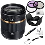 Tamron AF 18-270mm f/3.5-6.3 Di II VC PZD LD Aspherical IF Macro Zoom Lens for Canon DSLR Cameras + SSE