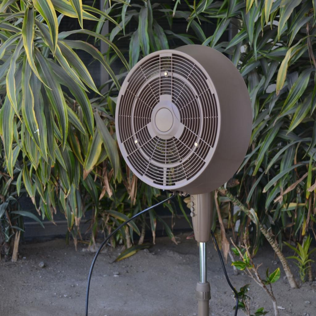 Best Outdoor Misting Fan : Amazon newair af b oscillating outdoor misting