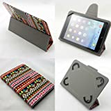 Asus Memo Pad 7 Inch All Models (7az) Universal Tablet Pc Case New Design , Ultra Slim , Low Weight and Fashionable (Only 7 Inch) (Tribal Pattern Tumblr Aztec Print) (Color: Tribal Pattern Tumblr Aztec Print)